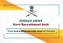 Indian Army Free job alert on highonstudy