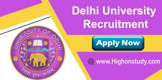 DU Recruitment