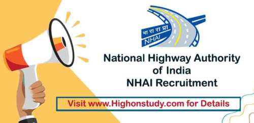 National Highway Authority Of India Jobs