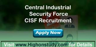 cisf job