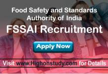 Food Safety and Standards Authority of India JObs