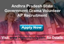 ap Grama Volunteer jobs