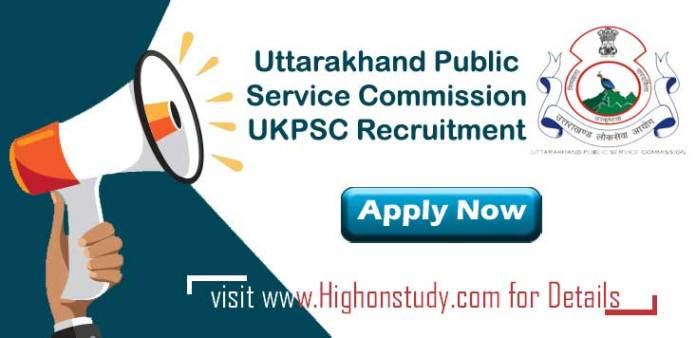 Uttarakhand Public Service Commission Jobs