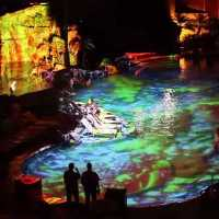 Raylight 4D Water Projection System at the Sheraton…