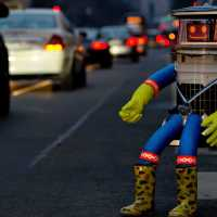 hitchBOT, the Adventures of a Hitch-Hiking Robot.