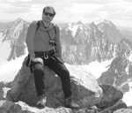 Steve Harding on Gannett Peak