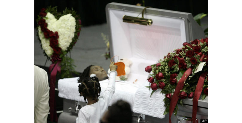 Lisa Lopes Funeral Open Casket