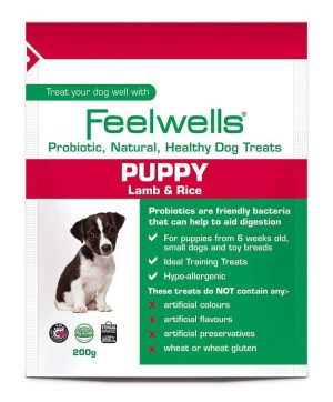 Feelwells Probiotic Treats Puppy 200g