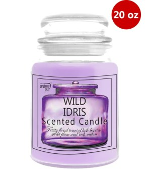 Jar Candle With Lid 20oz Wild Idris