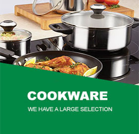 Visit our large range of Cookware