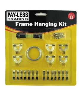 Picture Hanging Set With Spirit Level Payless