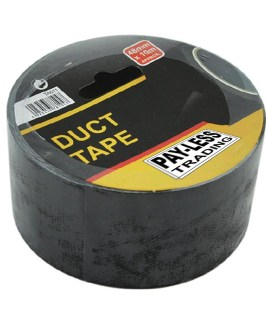 Duct Tape 48mm x 10 metre Black Payless