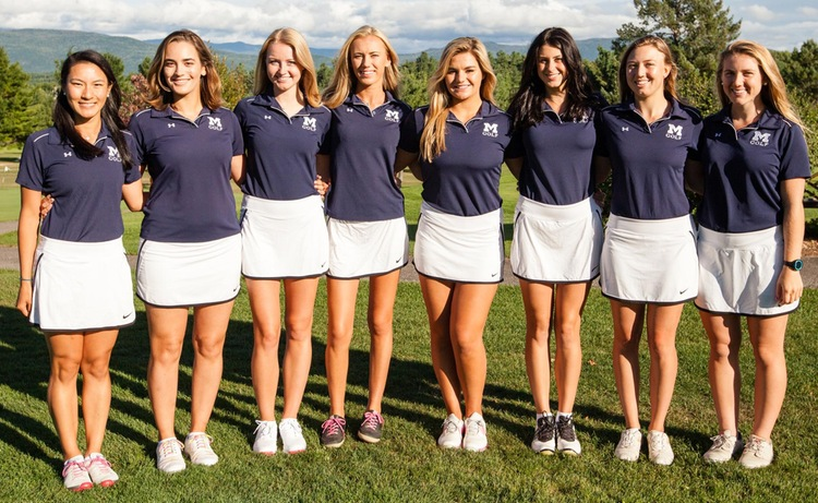 Middlebury Athletics Girls Golf Team
