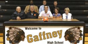 Zach Gordon, Gaffney Clemson
