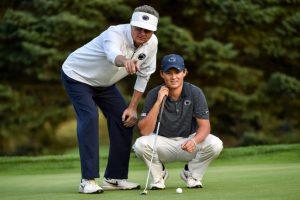 coaching golf