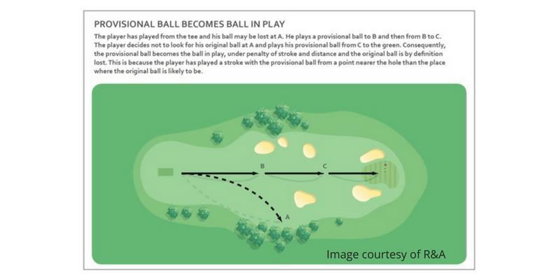 Provisional Ball
