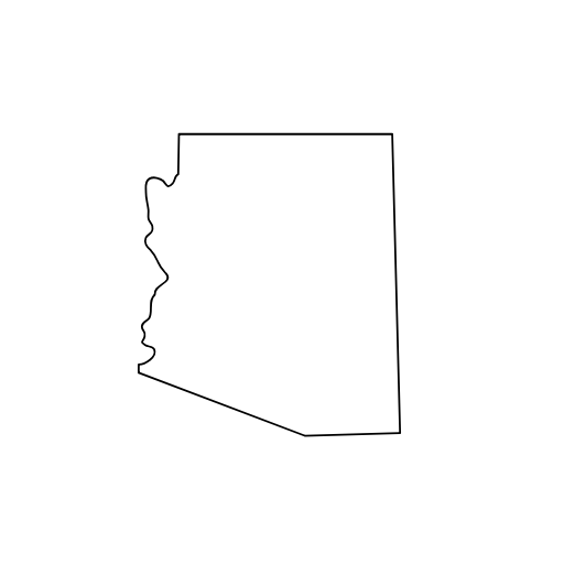 Arizona State Outline