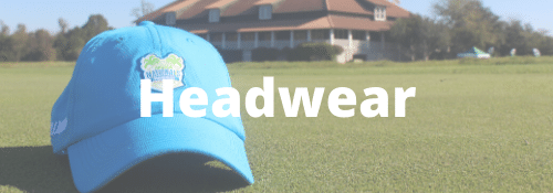 High school golf headwear