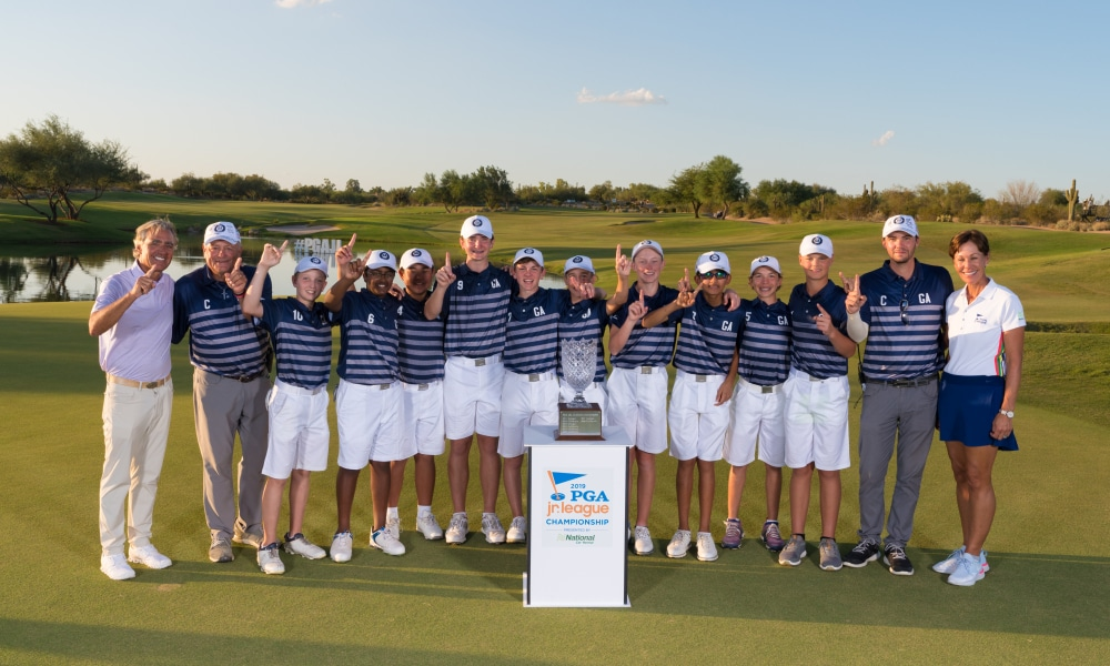 PGA Jr. League Champions