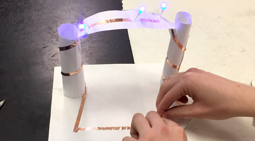 Paper Circuit Arch