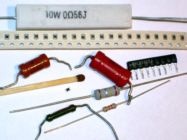 Various Resistors