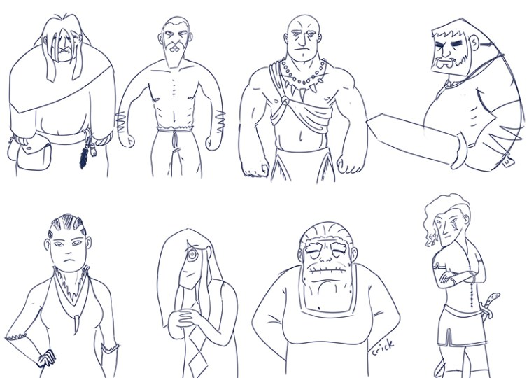 0602-character sketches