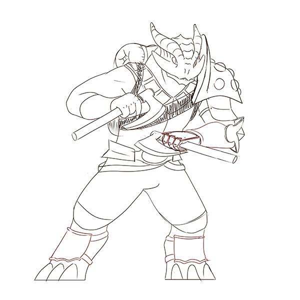 0316-Melchior-DragonbornPaladin-WIP