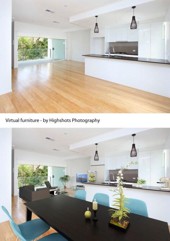 Virtual furniture sample by Highshots - 1