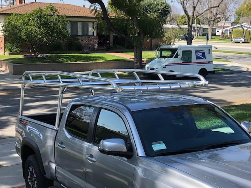 aluminum ladder rack for tacoma pickup