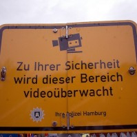Zu Ihrer Sicherheit wird dieser Bereich videoüberwacht