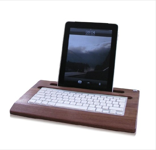 Woody iPad Tray