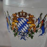Bierkrug in Bayern, Symbolbild