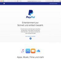 PayPal und Apple