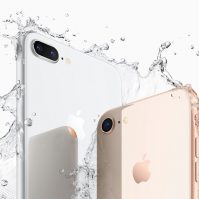iPhone 8 wasserfest
