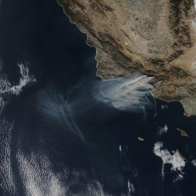 California Fires in 2nd Week