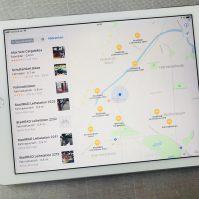 Apple Maps Fahrradverleih