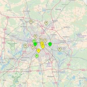 Berlin Luftqualitätsindex LQI