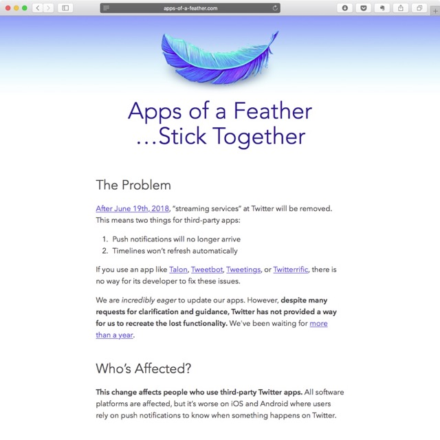 Apps of a Feather