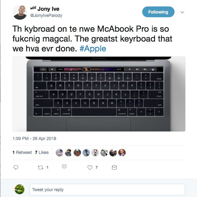 Tastatur-Probleme am MacBook Pro