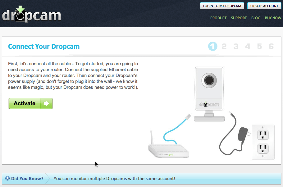 DropCam is the Ultimate, Easy To Set Up, Security Webcam
