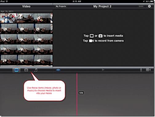 iMovie & the iPad 2 = Fun Afternoon Creativity With the Kids