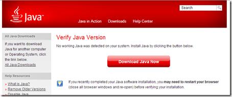 no-java-installed