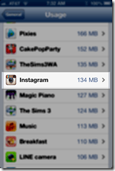 Instagram before deleting