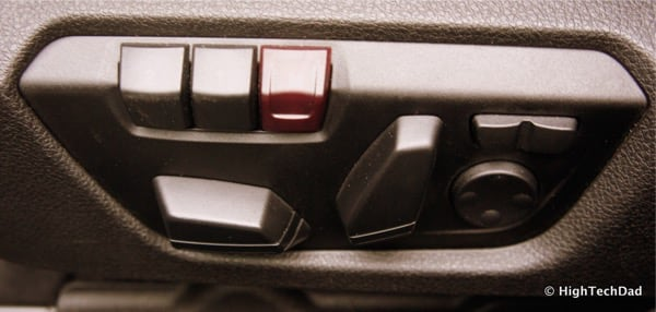 2015 BMW M3 - Driver Seat Controls