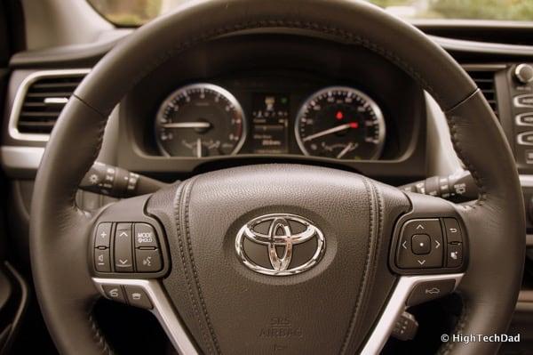 Toyota - Volume Controls on Left