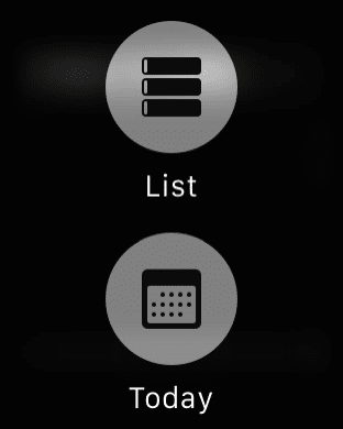 Apple Watch Tips - Calendar views