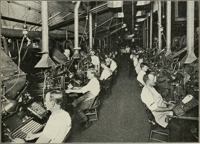 Newspaper Journalists of the 1900's - brand journalist