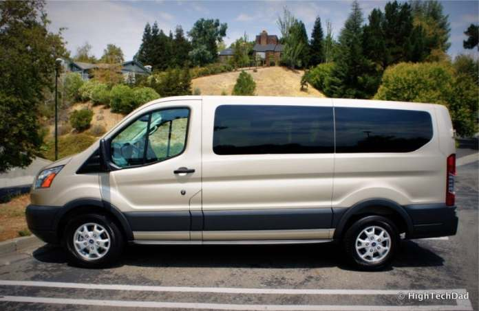 2015 Ford Transit Wagon XLT - Side View