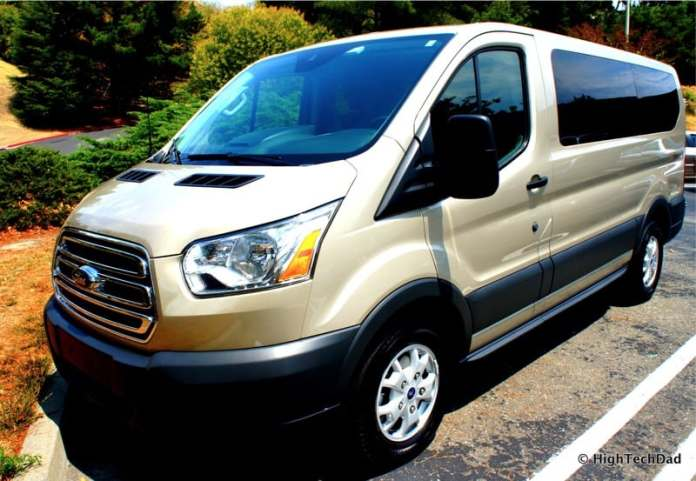 2015 Ford Transit Wagon XLT - Side Front
