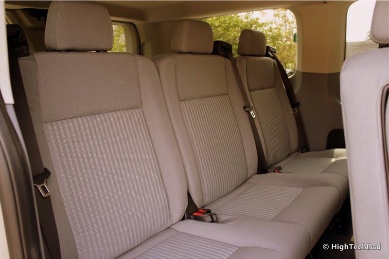 2015 Ford Transit Wagon XLT - Rear Seats